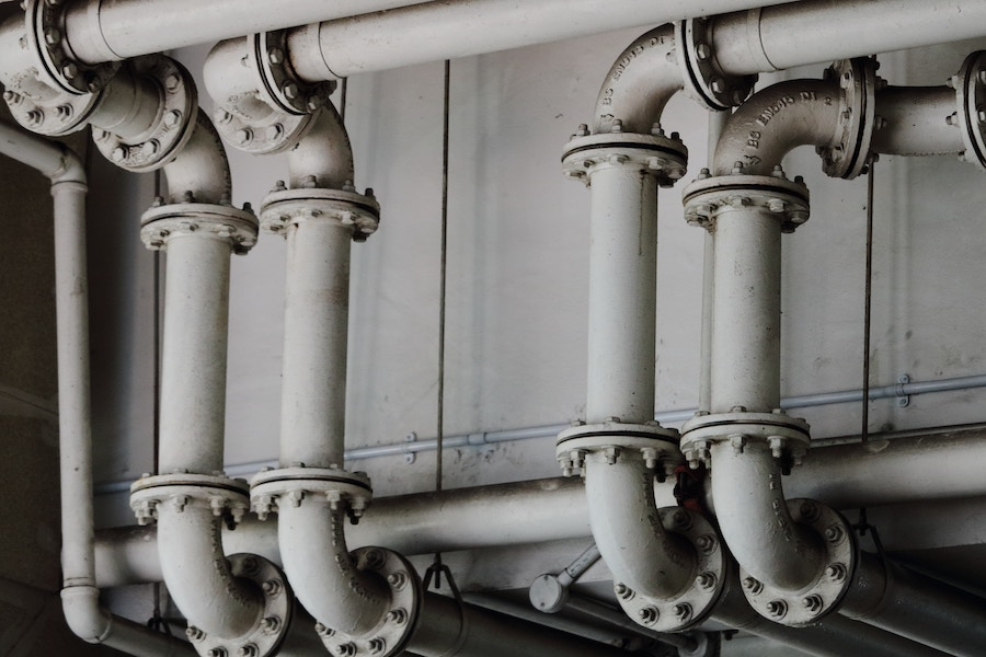 Metal pipes before winter-proofing your New Orleans home